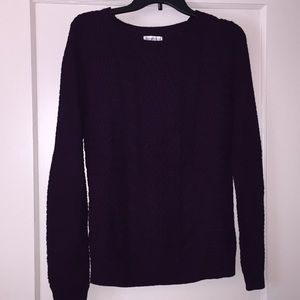 Dark Purple Croft and Barrow Sweater